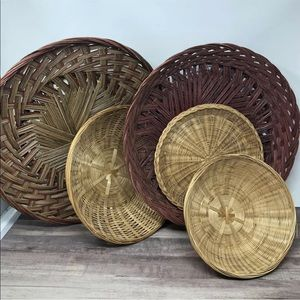 Boho Wall Baskets Collection
